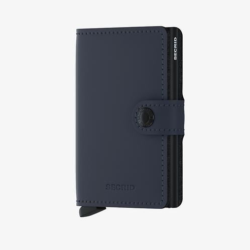 Mini Wallet ~ Matte Nightblue