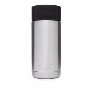 12oz Bottle with Hot Shot Cap - Stainless