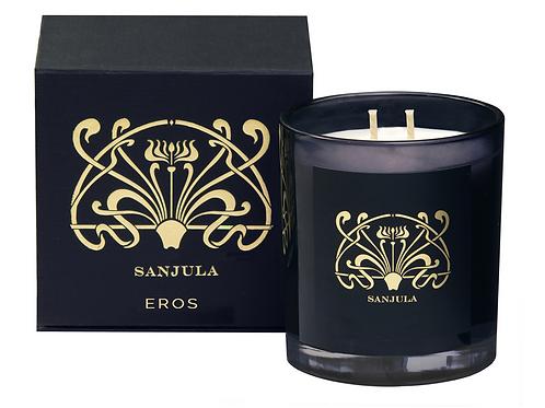 Sanjula XL Soy Wax Candle ~ Eros Scent