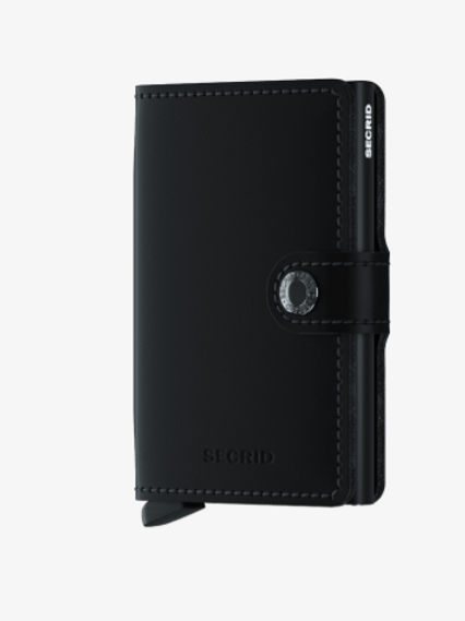 Mini Wallet ~ Matte Black