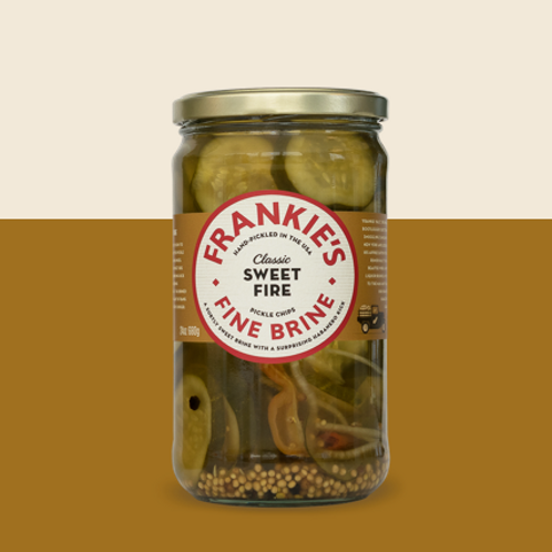 Frankies ~ Sweet Fire Pickle Chips