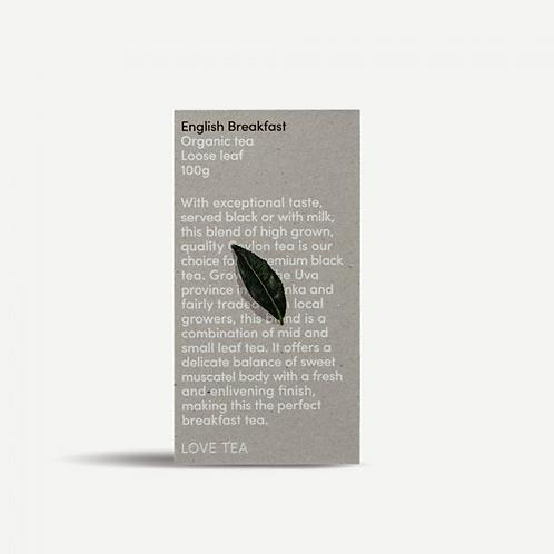 Love Tea ~ English Breakfast Loose Leaf Tea