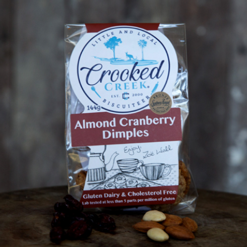 Almond & Cranberry Dimples