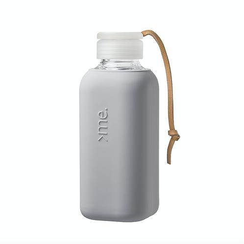 SquireMe Glass Bottle ~ Concrete