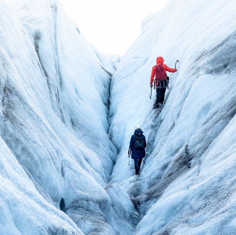 Walking in a Crevas