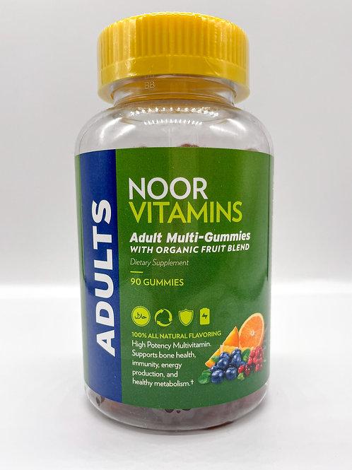 NOOR Vitamin Adult Multivitamin Gummies