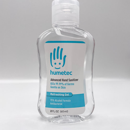 Humetec Advanced Hand Sanitizer 2 oz