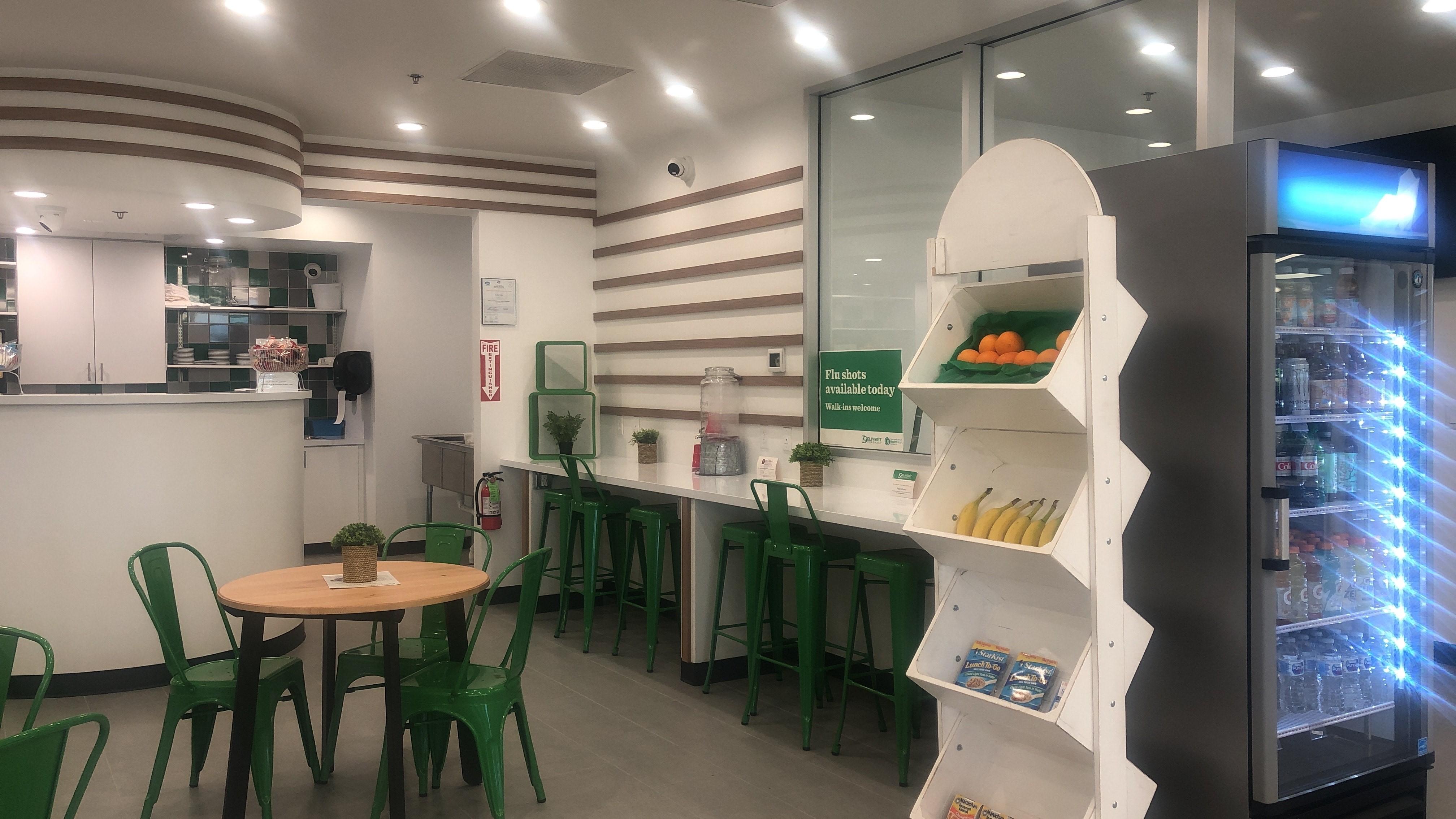 Coffee corner seating