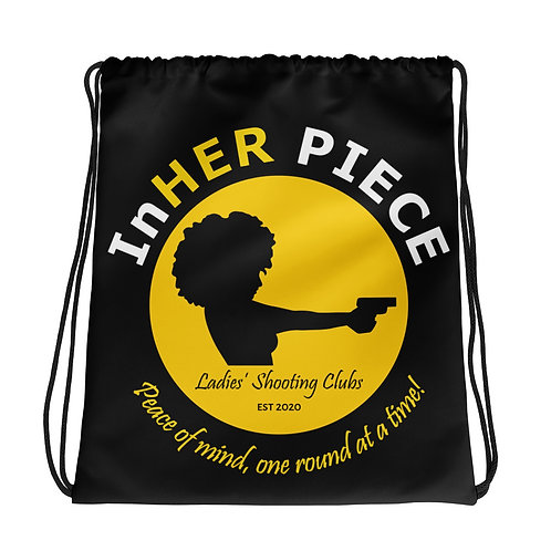 InHER Piece Drawstring bag