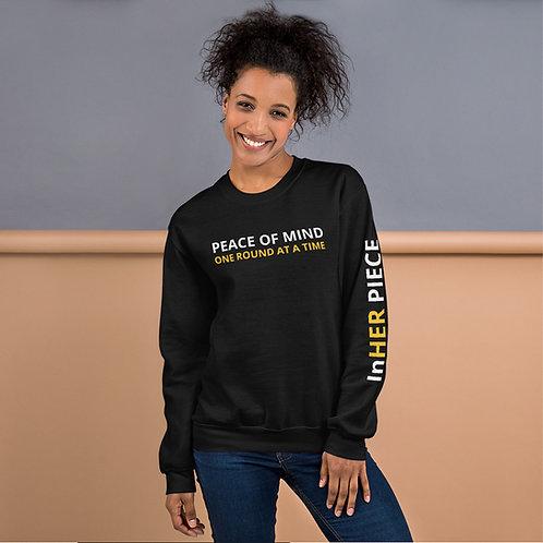Peace of Mind Sweatshirt w/ Logo