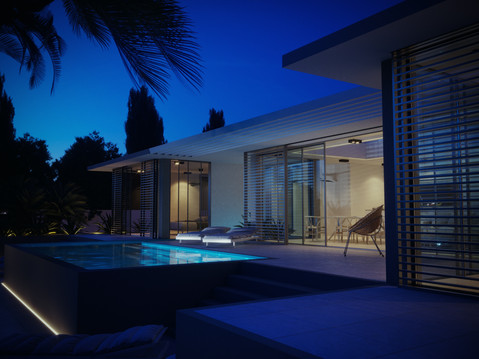 Marbella House_Blue Hour_2nd view