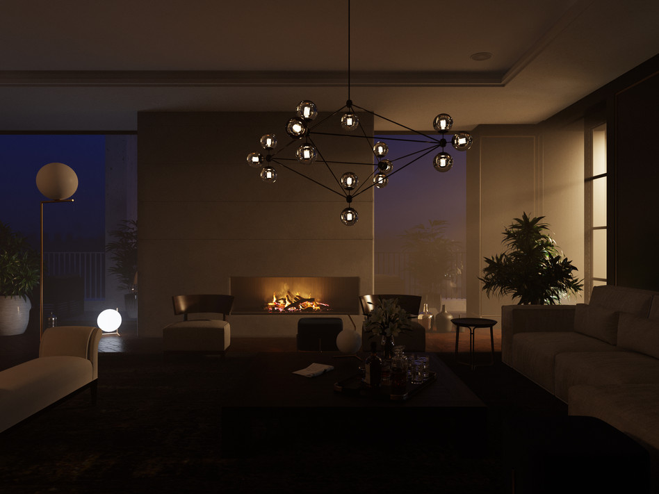 Living room_night time