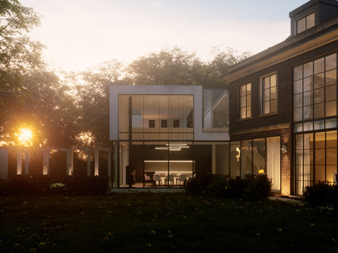 Rear Extension - Sunset