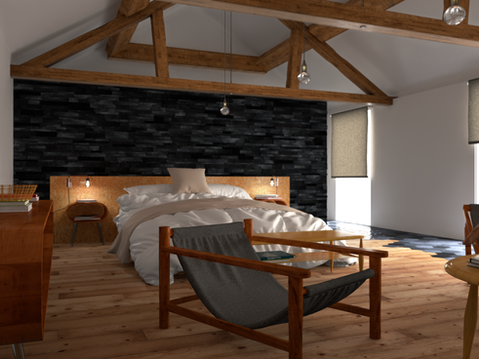 Barn Conversion - Bedroom
