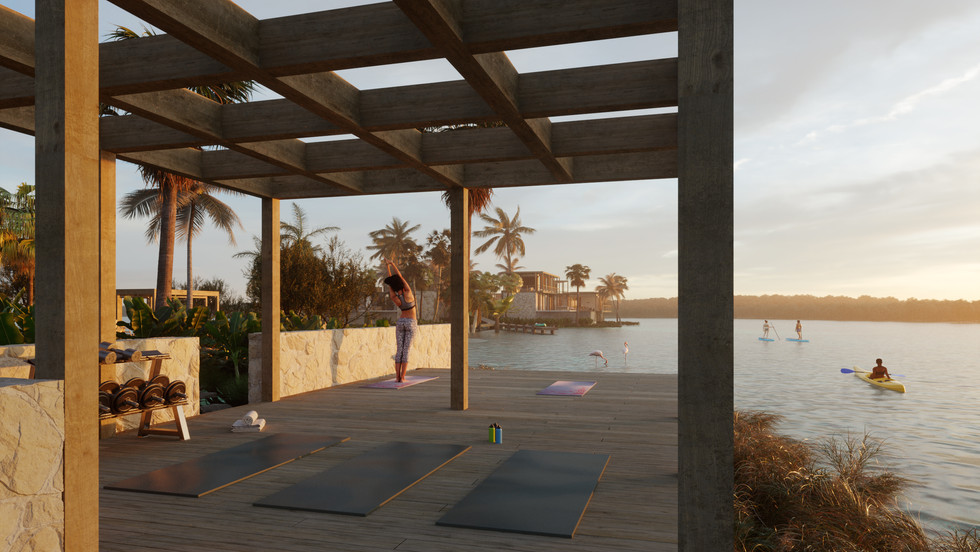 The Sanctuary - Outdoor gym