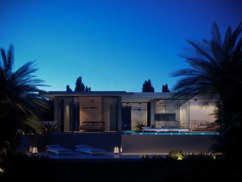 Marbella House_Blue Hour