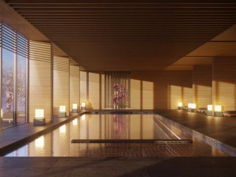 Aman resort and spa in Hokkaido morning