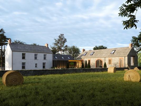 Farm House & Barn Conversion