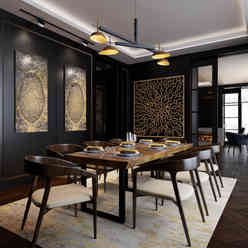 Penthouse - Dining Room