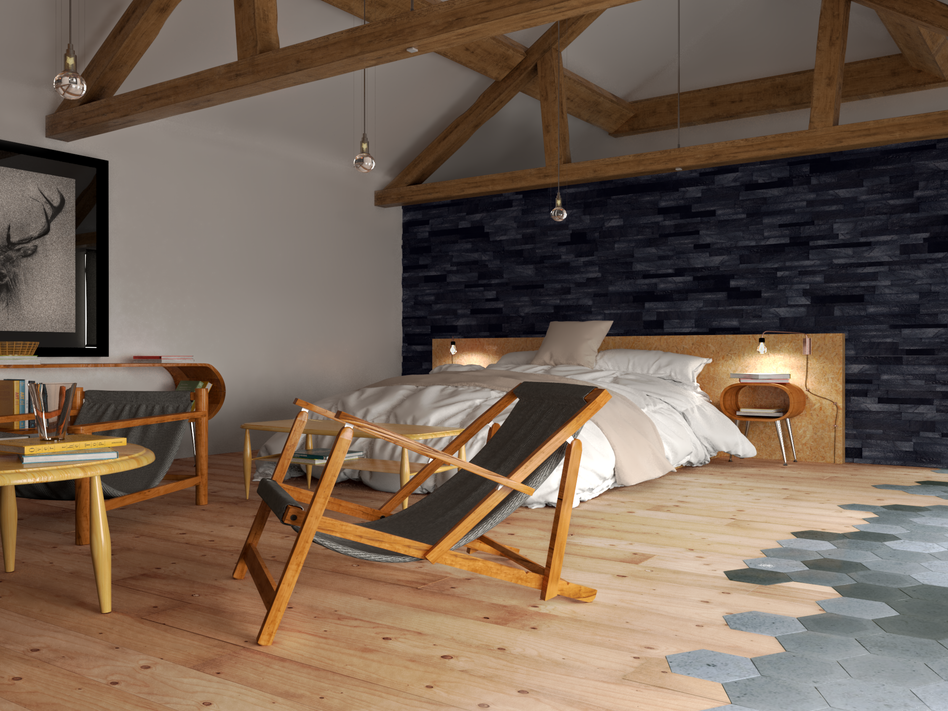 Barn Conversion - Bedroom