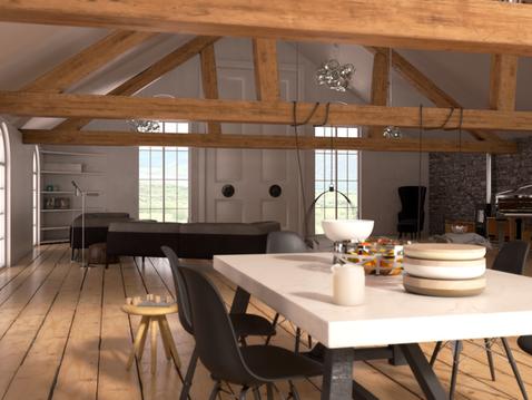 Barn Conversion - Kitchen