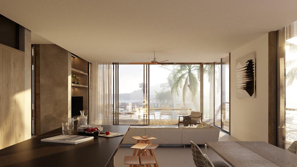 The Sanctuary - Living Room