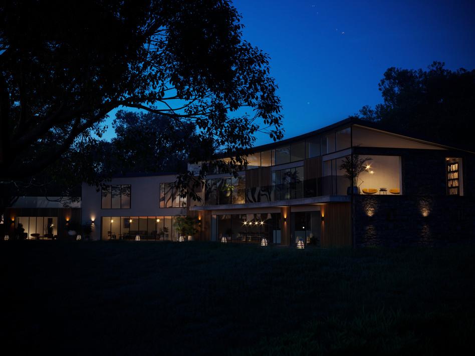 Doagh House Blue Hour