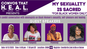 "CONVOS THAT H.E.A.L. ""MY SEXUALITY IS SACRED"""
