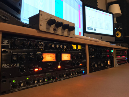 Post 1: Studio gear & how I use it.