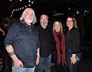 Jon Brooks, Andrea England and Liz Rodriguez