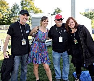 Jenni Thai, Ken Wallis and Suzie Vinnick