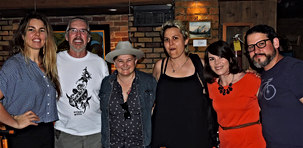 Mel Parsons, Irish Mythen, Liz Stringer, Laura Spink and Shawne Clarke