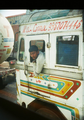 CURIOUS BUS DRIVER