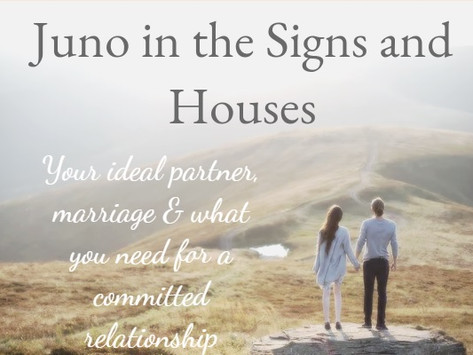 Juno in the Signs and Houses
