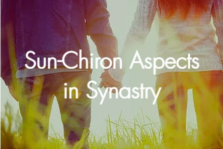 Sun-Chiron Aspects in Synastry