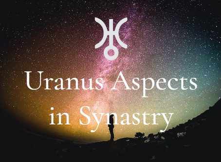 Uranus Aspects in Synastry: To Sun, Moon, Mars and Venus