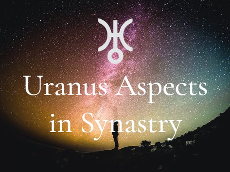 Uranus Aspects in Synastry: To Sun, Moon, Mars and Venus