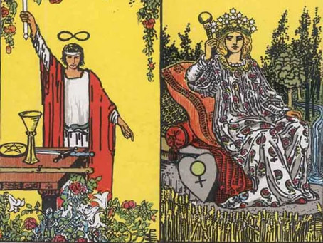 Tarot Cards Combinations: The Magician and Empress