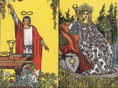 Tarot Cards Combinations: The Magician and Empress