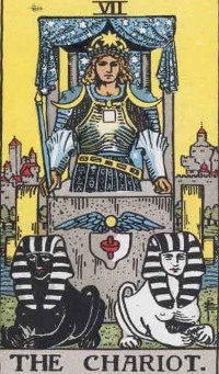 The CHARIOT and EMPEROR Tarot Combination in Love, Work and Finances