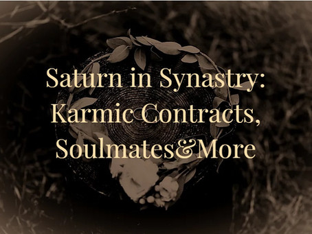 Saturn Aspects in Synastry: To Sun, Moon, Venus and Mars