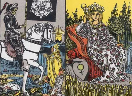 Tarot Cards Combinations: The Death and Empress