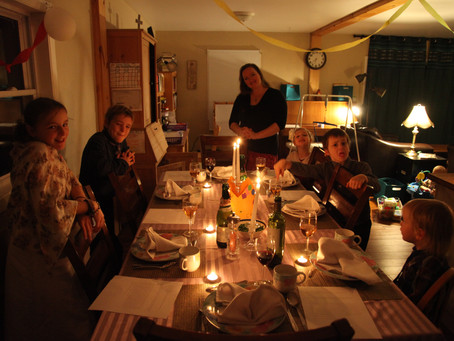 The Family Dinner and the Wedding Feast