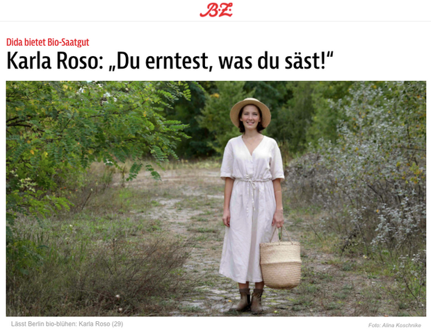 """""""dida lässt Berlin bio-blühen"""""""