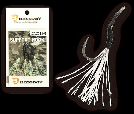 Support hook PTFE (fluorine coat)