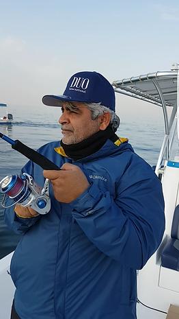 Sultan Rashed Al Shamsi fishing