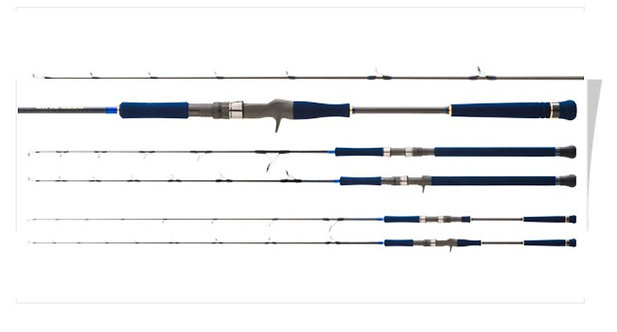 Deep Blue Rod Hearty Rise