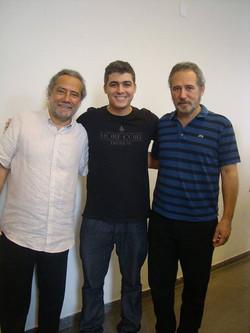 Odair e Sérgio Assad, os grandes mestres do violão brasileiro que nos representa  mundialmente, uma
