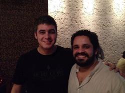Meu parceiro Rogério Caetano! Meu ídolo!