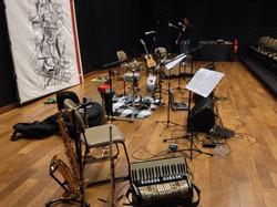 Passagem de som!!! A partir das 20_30 no teatro Centro Cultural UFG!